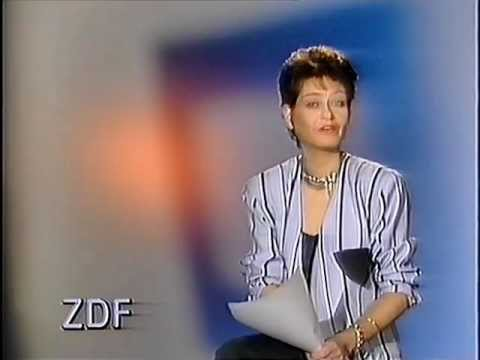 Sibylle Nicolai ZDF Ansage 1987