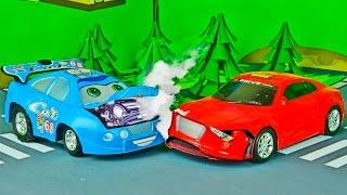 Мультики ПРО МАШИНКИ Гоночная машина Развивающие мультфильмы для детей Все серии подряд