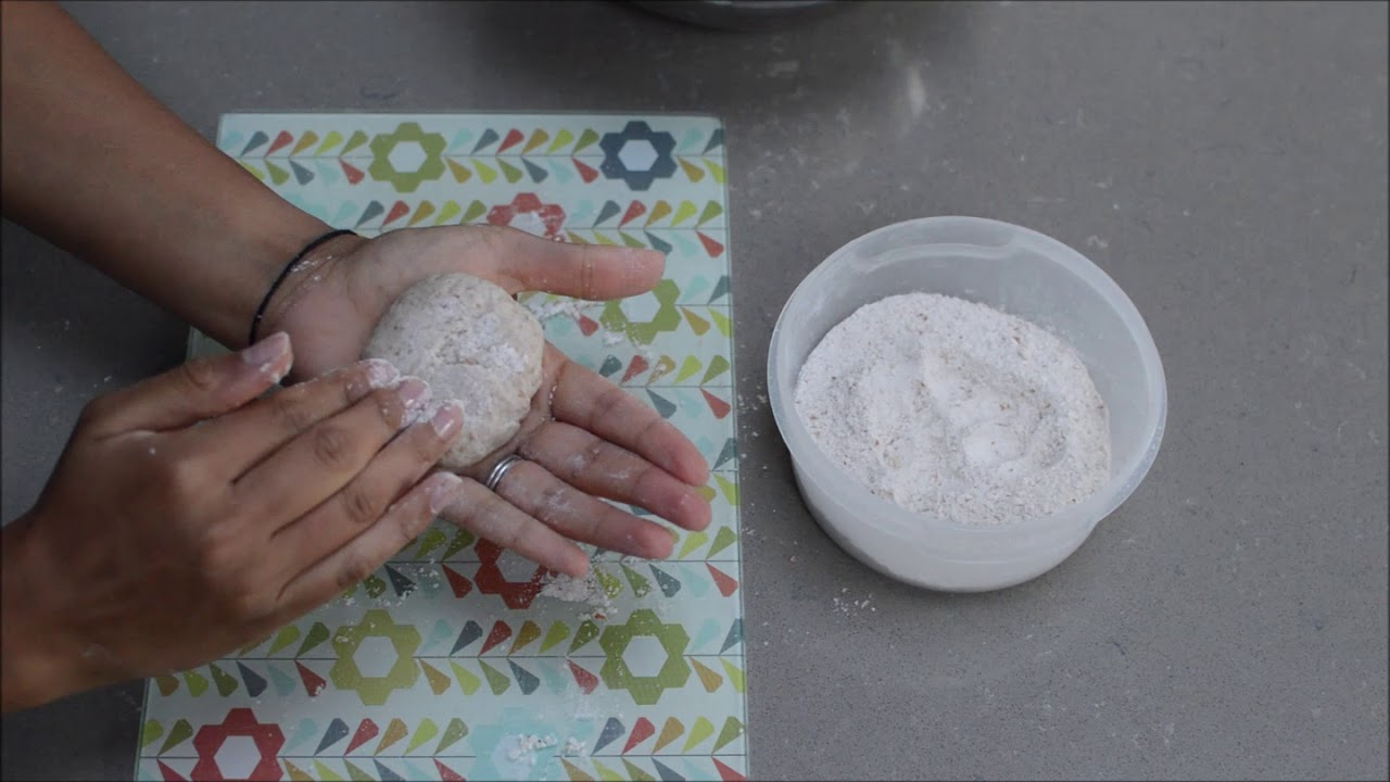 How to make Roti/Chapati - short summary with text