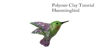 How to make a Hummingbird out of Polymer Clay/ Tutorial.DIY