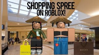 Shopping Spree On ROBLOX | PART 2 (I SPENT 400+R$)