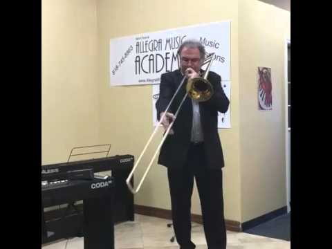 Bob McChesney full music trombone Clinic at Allegra Music Academy with Paul The Trombonist