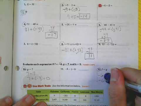 Homework help year 7 maths