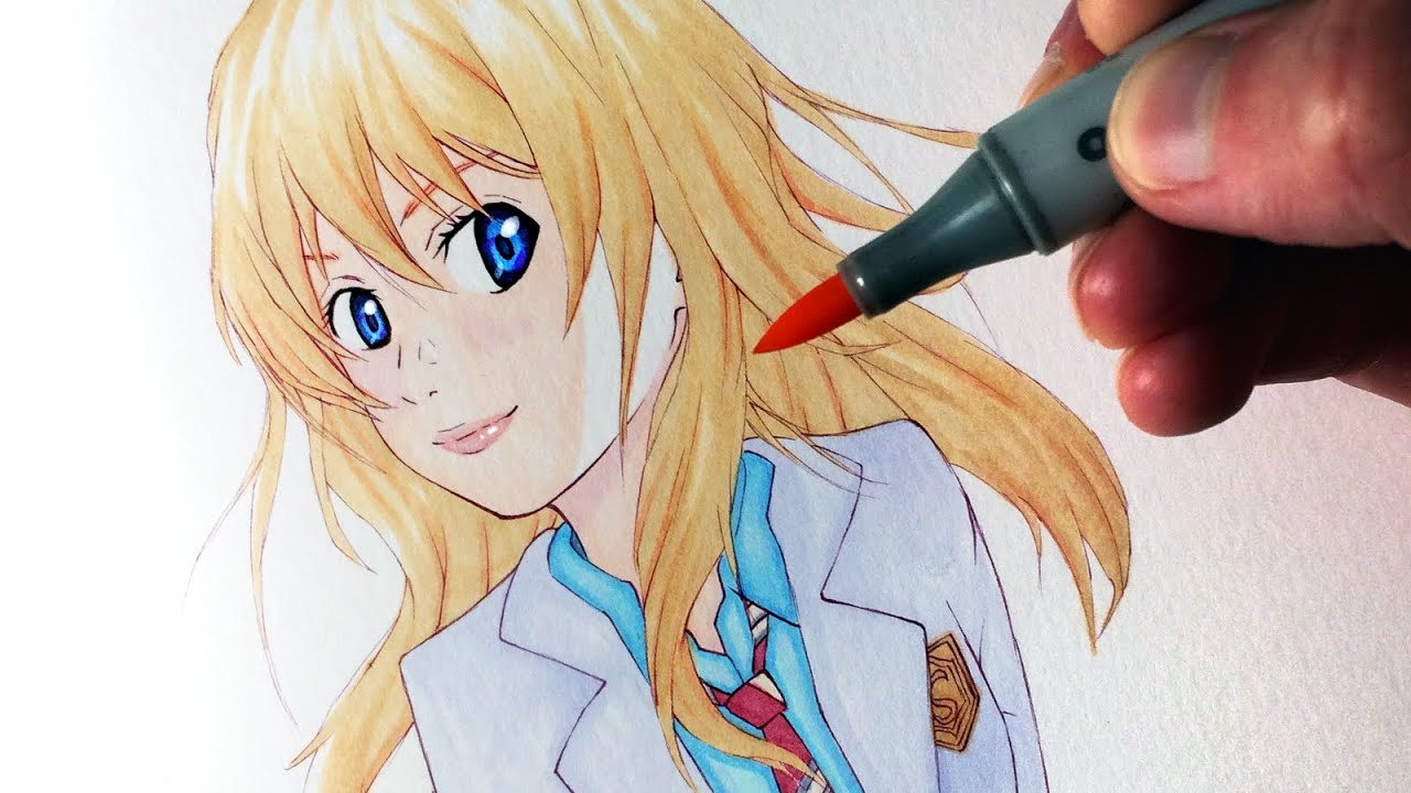 Lets Draw Kaori Miyazono From Your Lie In April