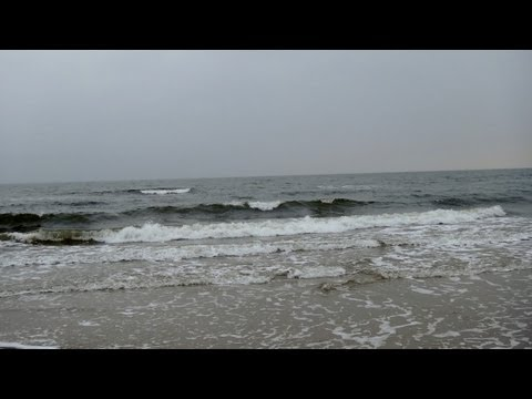 Sound of the Baltic Sea (winter, moderate waves)