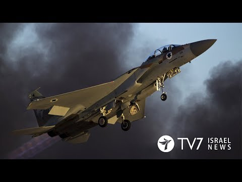 TV7 Israel News 09.01.18 Israel allegedly launches three separate attacks against Syrian arms-depot