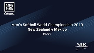 New Zealand v Mexico - Men's Softball World Cup 2019