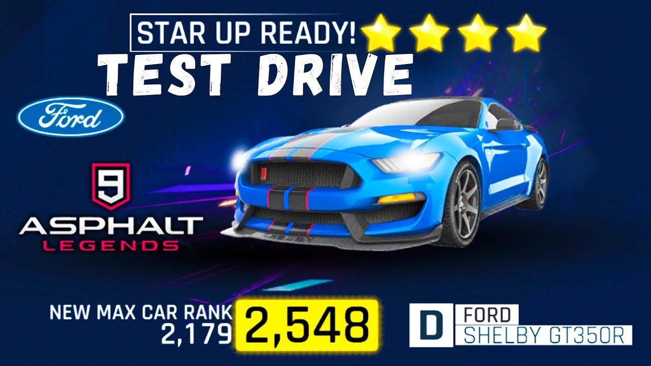 Ford shelby gt350r asphalt 9 legends gameplay ios