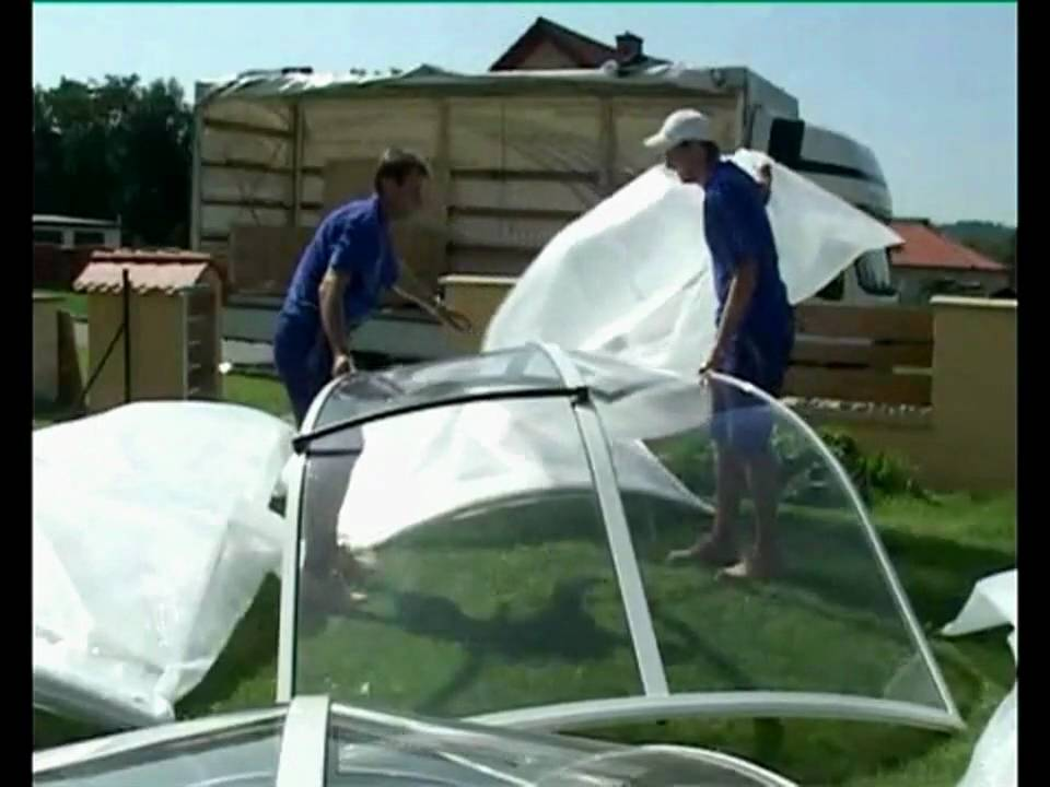 & Installation of SPA DOME ORLANDO Hot Tub Enclosure - YouTube