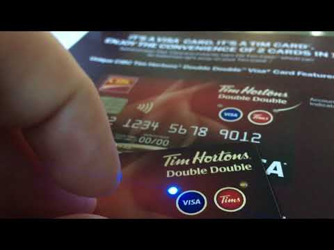 How Does: CIBC Tim Hortons Double Double CREDIT CARD Work?