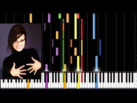 Alizee - Tempete (Piano Tutorial)
