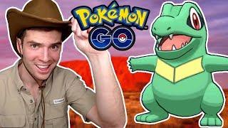 CRIKEY! The Totodile Hunter! Pokemon Go Vlog