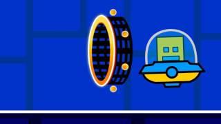Geometry Dash Animation - UFO Portal