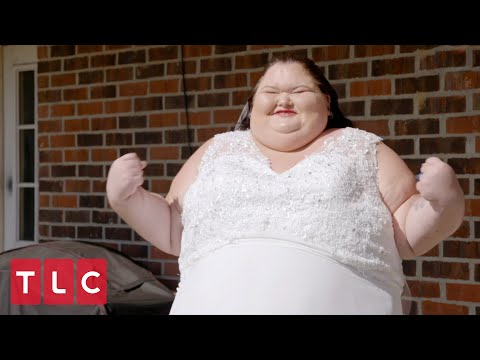Amy Slaton's Wedding Dress! | 1000-lb Sisters