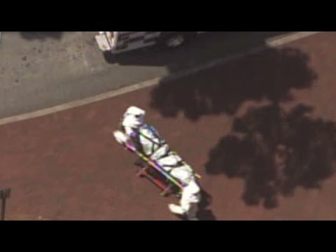 Second American Ebola patient arrives at hospital