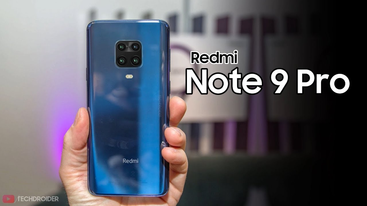Redmi Note 9 Pro – FIRST LOOK