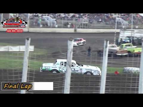 River Cities Speedway WISSOTA Street Stock Heats (7/5/19)