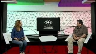 Con Eduardo Galeano en la pupila