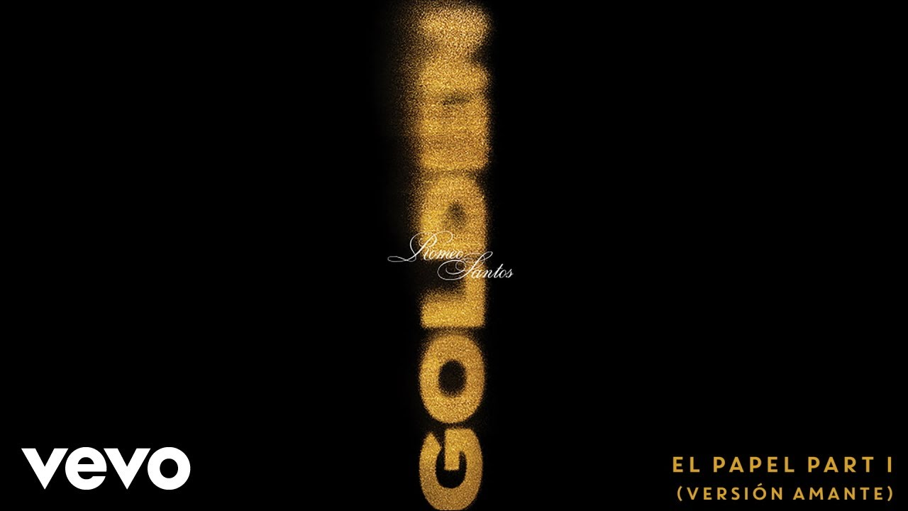 Romeo Santos - El Papel Part 1 (Versión Amante)[Audio]