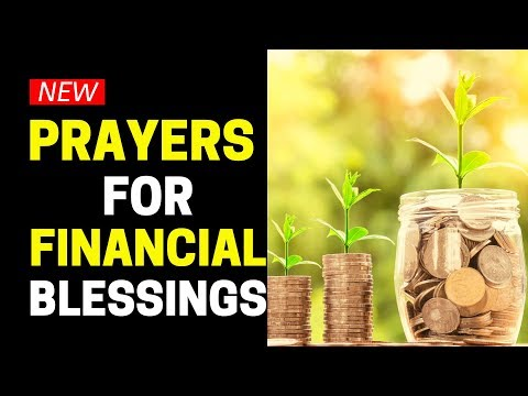 Powerful Prayers For Financial Blessings - Prayer For Immediate Financial Help