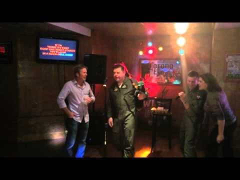 Aussie Allies ACDC karaoke at Maxwell AFB March 2015