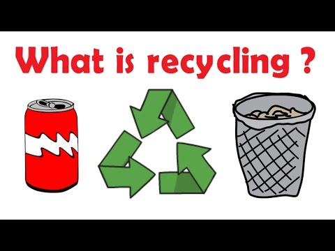 What is recycling - Recycling facts for kids - learning for kids - Simply e-learn kids