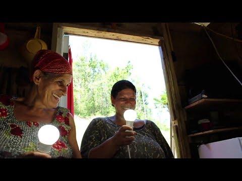 The Wonder Women Project Part 3. Installing the Solar Generator