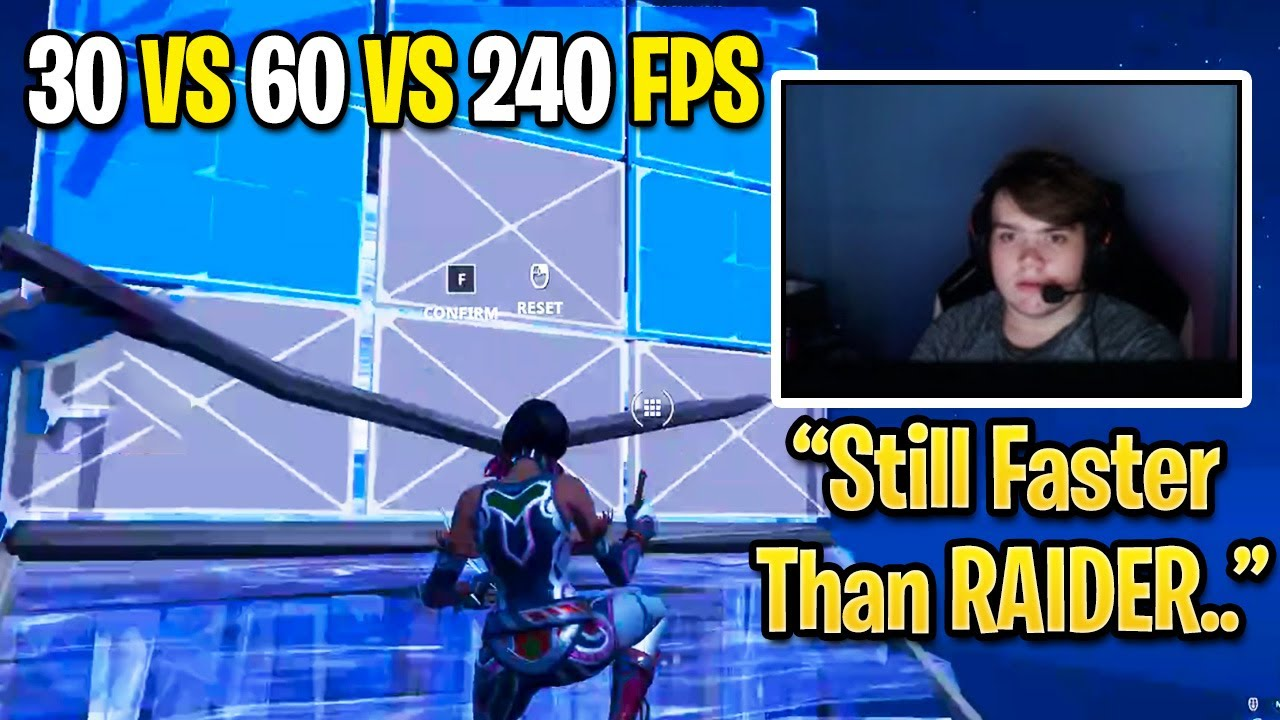 Mongraal Switches to 30 & 60 FPS then Edits Faster Than Raider464 & SerpentAU! (Fortnite Season 3)