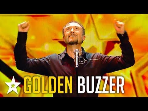 OPERA SINGER Raul Gets GOLDEN BUZZER on Spain's Got Talent 2