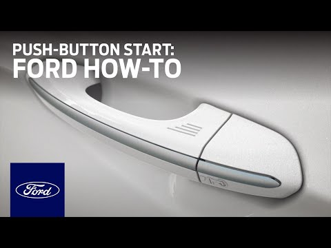Available Intelligent Access with Push-Button Start | Ford How-To | Ford