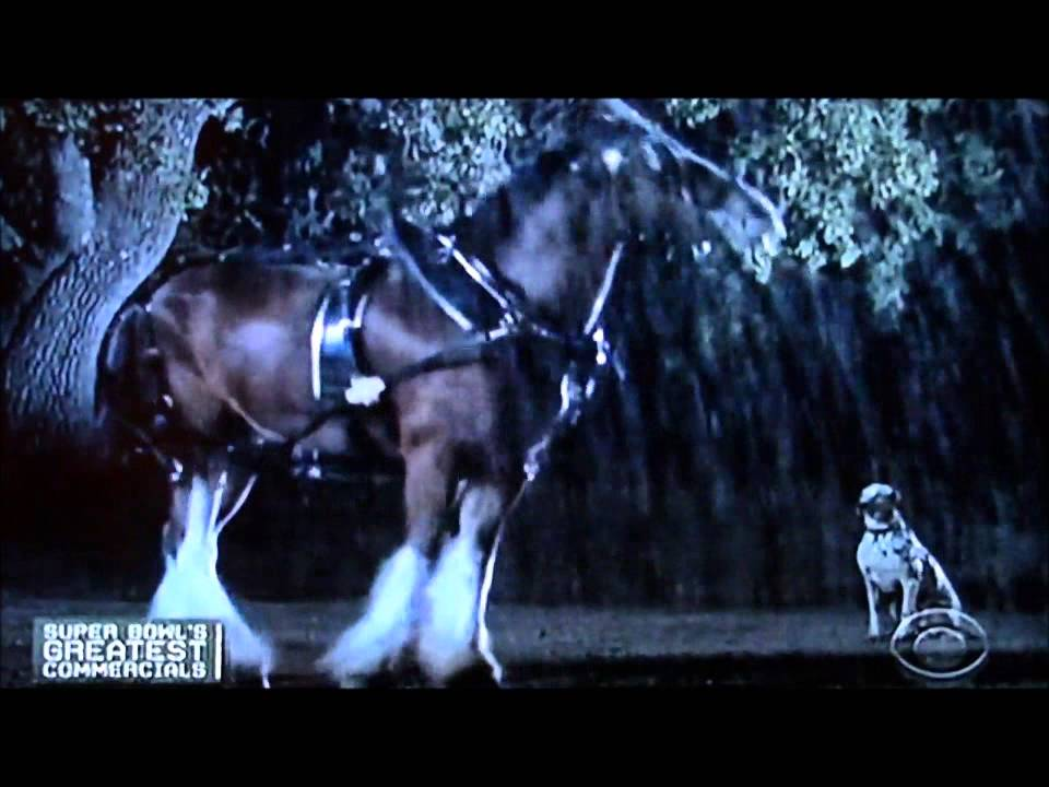 Budweiser....#1 Super Bowl Commercial of all time - YouTube