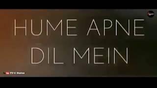"""Hume apne dil basaya hai tumne whatsapp status video - """"हमे अपने दिल में बसाया है तुमने"""""""