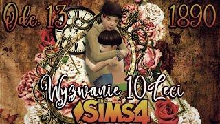 ⌛  Mały Abraham zamarza... ⌛ #13 - The Sims 4 WYZWANIE DZIESIĘCIOLECI 1890 r. | Mrs. Scarlett
