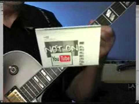 Over 1000 professional download guitar lessons, includes PDF