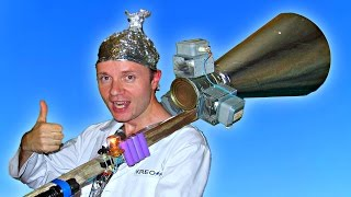 Самодельная МАГНЕТРОННАЯ ПУШКА из микроволновки и электрошокера(ОПАСНО ! Не повторять! Микроволны могут нанести вред здоровью и технике. Перед проведением эксперимента..., 2016-10-18T14:06:54.000Z)