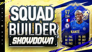 Fifa 20 Squad Builder Showdown!!! TEAM OF THE YEAR KANTE!!! The Most Expensive Kante EVER