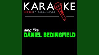 Wrap My Words Around You (In the Style of Daniel Bedingfield) (Karaoke with Background Vocal)