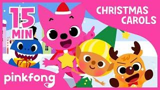 Christmas Sharks | Christmas Carols | + Compilation | Pinkfong Songs for Children