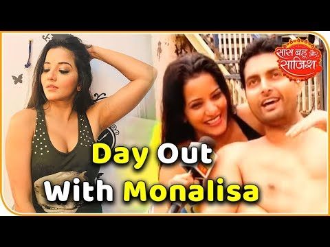 DAY OUT: Nazar actress Monalisa aka Antara Biswas experiences Imagica with her husband and SBS