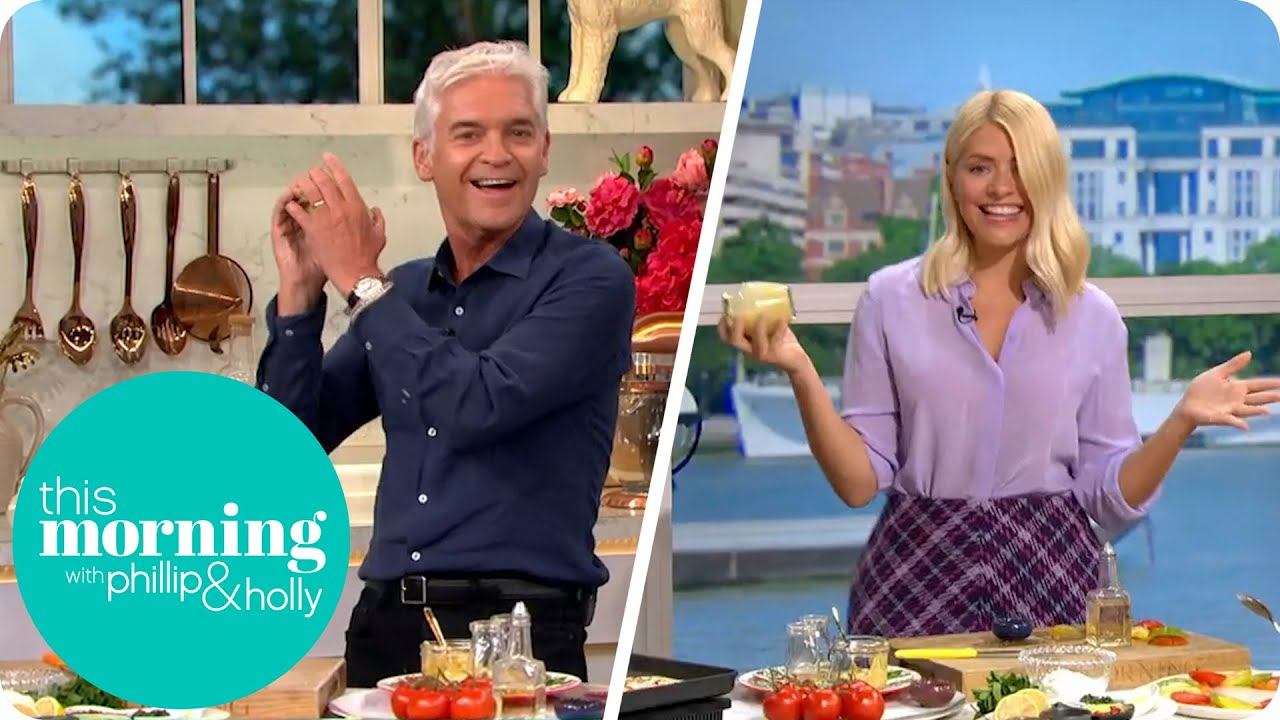 Phillip And Holly Go Head To Head In a Cookalong Challenge | This Morning thumbnail