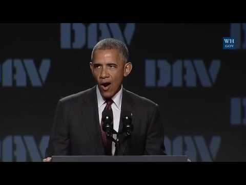 President Obama full speech at National Convention of Disabled American Veterans. 8/1/16