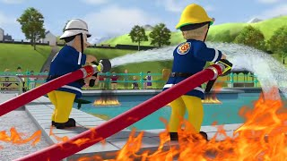 Fireman Sam US New Episodes HD | Fire at the Pool 🔥New Best rescues 🚒🔥Kids Movies