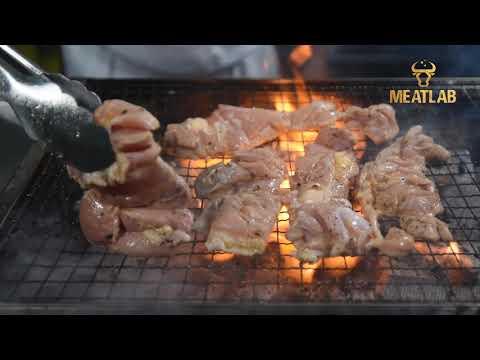 MeatLab Peri-Peri Chicken - Memasak dengan cara Grill