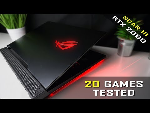 Asus ROG Strix Scar III Gaming Benchmarks - RTX 2060 / i7-9750H / Asus G531gv
