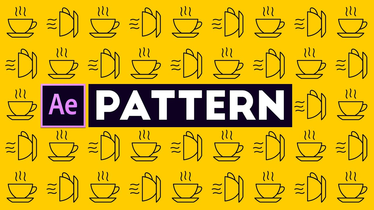 Create an Animated Background Patterns - After Effects Tutorial