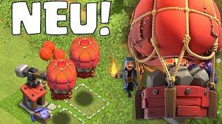 FELSENWERFER! - NEUE MASCHINE! ☆ Clash of Clans ☆ Dezember Update