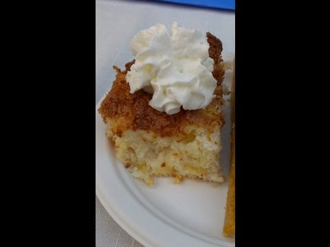 Pineapple Angel Food Cake - So easy! Only 2 ingredients?