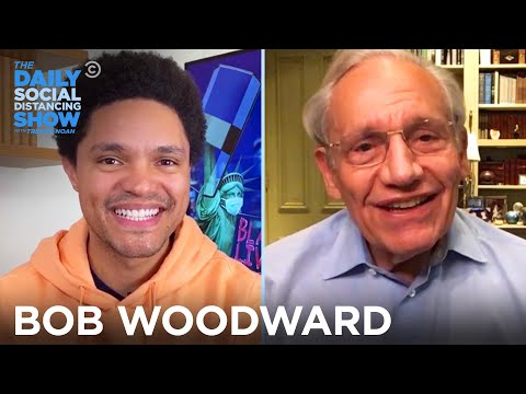 Bob Woodward - Why He Kept Trump's Coronavirus Comments Secret | The Daily Social Distancing Show
