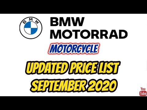 BMW MOTORCYCLE Price List In The Philippines Updated September 2020 | BMW Motorrad