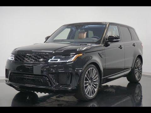2019 Range Rover Sport Autobiography - Revs + Walkaround In 4k